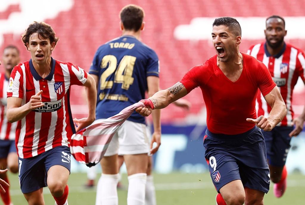 Atlético de Madrid cerca del título. Foto: Twitter