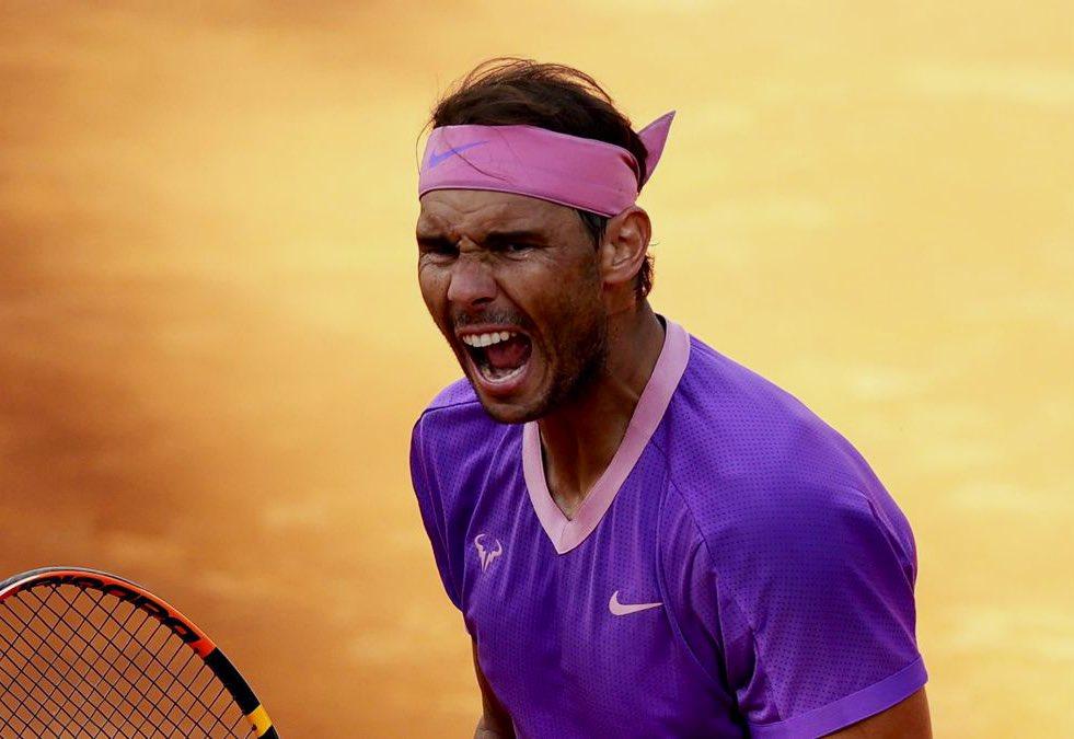 Nadal campeón de Roma. Foto: Twitter