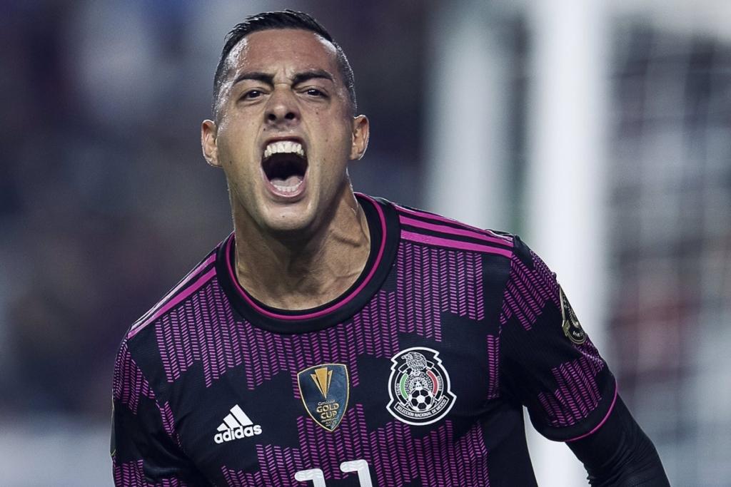Funes Mori con la selección. Foto Twitter Rayados