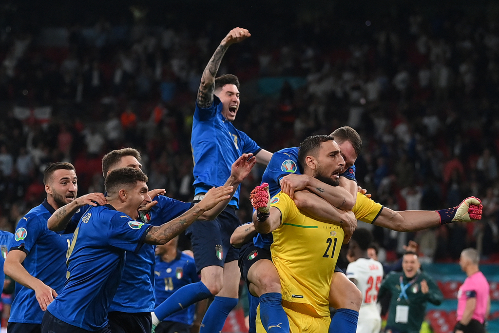 Italia, monarca de la Eurocopa. Foto: Twitter