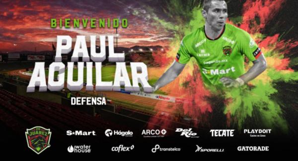 Paúl Aguilar regresa a la Liga MX. Foto: Twitter