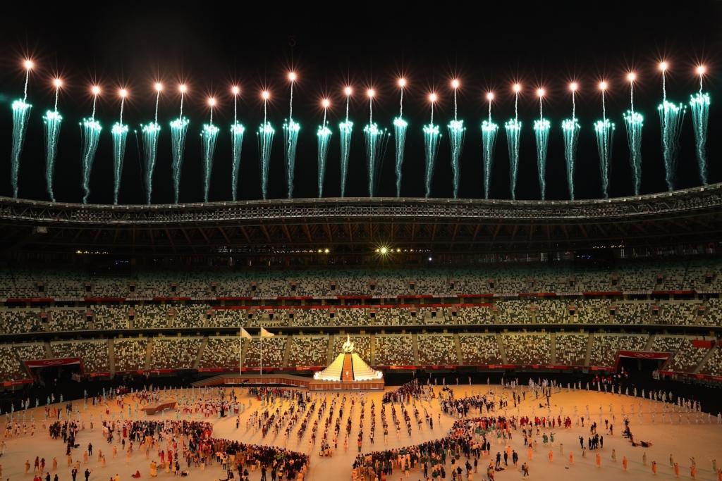 Se inauguraron los Juegos Olímpicos. Foto: Twitter